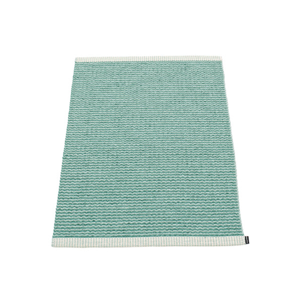 Pappelina Mono Rug Jade/Pale Turquoise