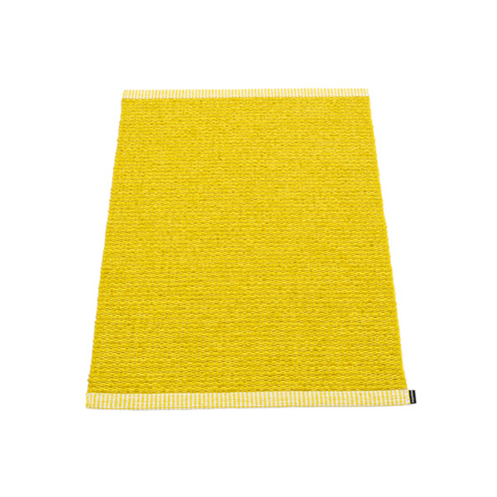Pappelina Mono Rug Mustard/Lemon