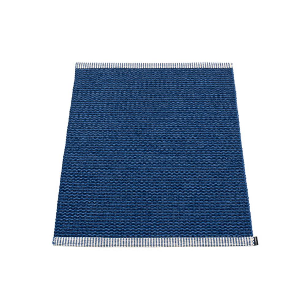 Pappelina Mono Rug Dark Blue/Denim