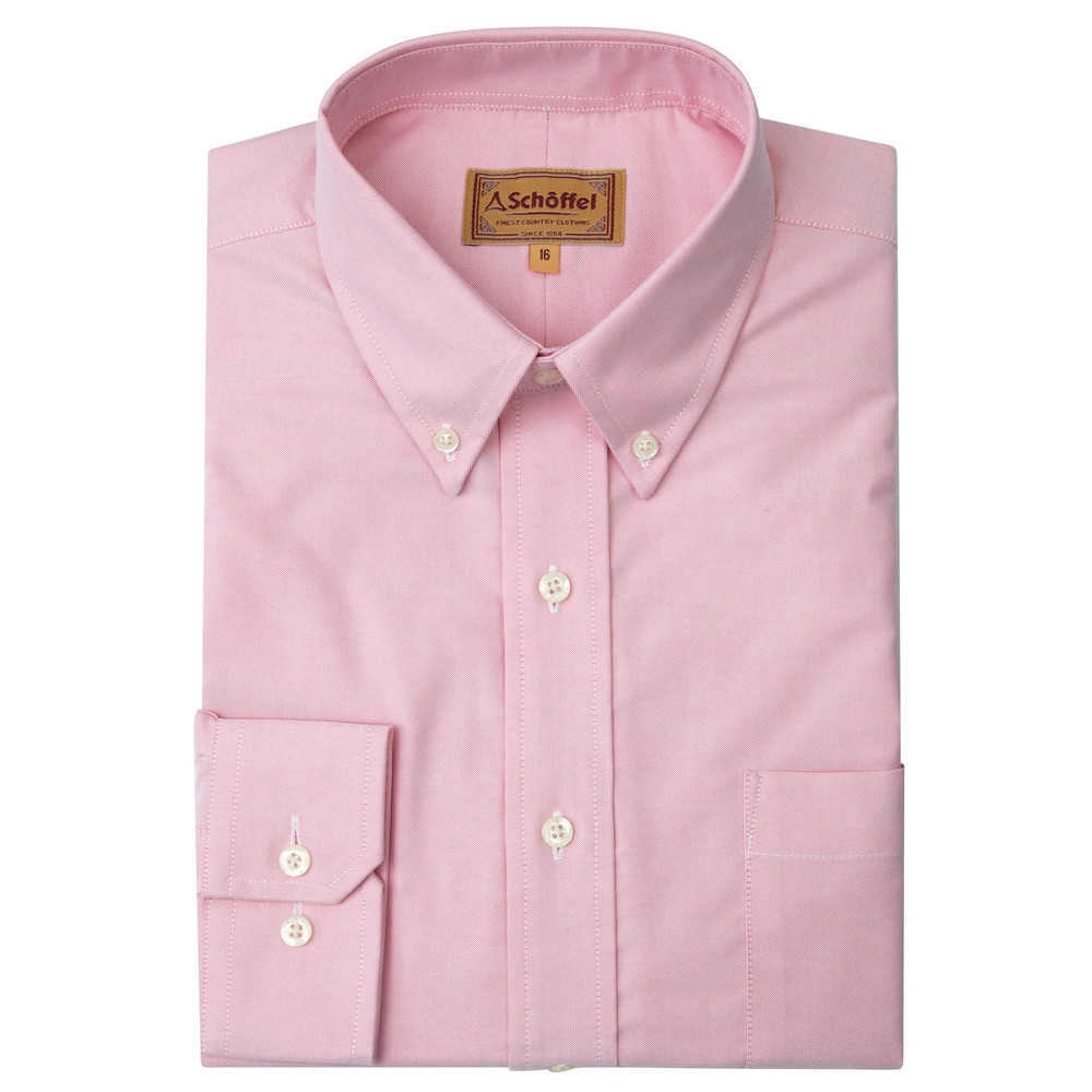 Schoffel Country Oxford Shirt Pink