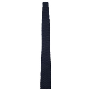 Knitted Tie Navy